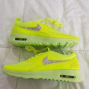 Nike Womens Air Max Thea Size 5.5 with SWAROVSKI